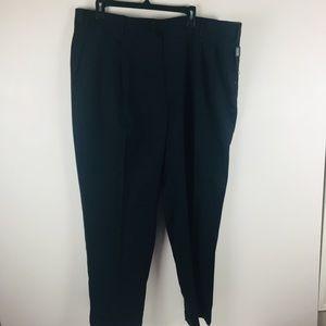Kirkland Navy 100% Wool Pleated Dress Pants 42x30
